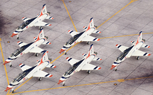 T-38A Talon USAF Thunderbirds, 6-Piece Set