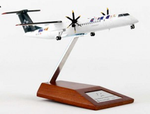 "Tyrolean ""Star Alliance"" Dash-8 Q-400 Reg# OE-LGC w/ Stand"