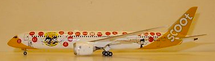 "Scoot B787-9 ""Singapore 50th"" 9V-OJE with Stand"