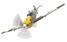 Bf 109E Luftwaffe 6./JG 51, Yellow 1, Josef `Pips` Priller