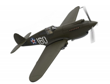 P-40B Warhawk USAAF 47th PS, White 160, George Welch