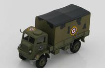QLD Cargo Truck Diecast Model RAF