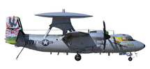 E-2C Hawkeye USN VAW-115 Liberty Bells, NAF Atsugi, Japan