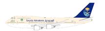 Saudi Arabian B747-400 HZ-AIY w/Stand