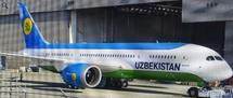 Uzbekistan Boeing 787-8 Dreamliner Reg# UK78701