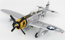 P-47D Thunderbolt USAAF 354th FG, 353rd FS, #42-0473, Glenn Eagleston, France, 1944