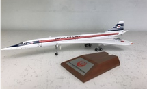 Japan Air Lines Concorde JA0557 with Stand