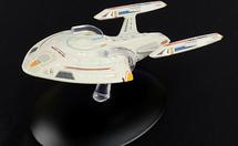 Nova-class Starship Starfleet, NCC-72701 USS Rhode Island, STAR TREK: Voyager, w/Magazine
