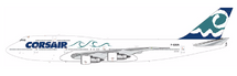 Corsair B747-300 (Waves) F-GSEA w/Stand