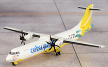 Cebu Pacific ATR72-600 (New Livery) RP-C7280 Gemini Diecast Display Model