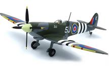 Spitfire Mk IX RAF No.126 Sqn, John Plagis, RAF Culmhead, England, June 1944