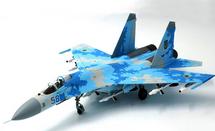 Su-27 Flanker-B Ukrainian Air Force, Blue 58, Ukraine, August 2016