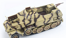 Sd.Kfz.8 Half-Track German Army, w/Mobile Launch Trailer