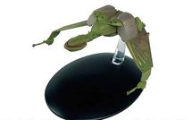 B`rel-class Bird-of-Prey Klingon Empire, w/Magazine - Star Trek Collection