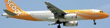 Scoot A320-200(S) (Sharklets) 9V-TRN w/Stand