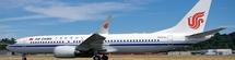 Air China B737 MAX-8 w/Stand