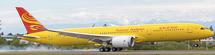 Hainan Airlines B787-9 Kung Fu Panda 3, Yellow B-7302 w/Std