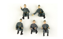 German Army, Vehicle Riders 5-Piece Set B