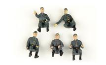 German Army, Vehicle Riders 5-Piece Set B