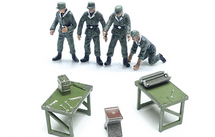 German Army, Mechanics and Benches 7-Piece Set
