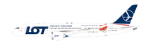 LOT Boeing 787-8 Dreamliner SP-LRH 2018 Olympic Winter Games Livery With Stand - Limited to 100 Models