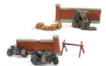 German Army, Motorcyle Road Block Seven-Piece Set