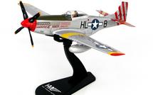 P-51D Mustang USAAF 31st FG, 308th FS, #44-15459 American Beauty, John Voll, San Severo AB, Italy, November 1944
