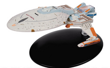 Yeager-type Starship Starfleet, NCC-65674 USS Yeager, STAR TREK: Deep Space Nine, w/Magazine