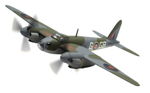 Mosquito B.Mk IV RAF No.105 Sqn, DK296, D A G George Parry - 100 Years of the RAF