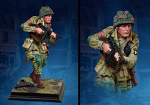 101st Airborne At Carentan, 1:6th scale Statue Hand-Painted Limited Edition (acrylic case not included)