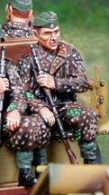 Waffen SS Rider Feldmutze, single figure