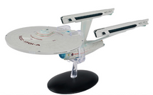 Constitution-class Heavy Cruiser Starfleet, NCC-1701-A USS Enterprise, STAR TREK: The Voyage Home, w/Magazine