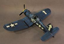 F4U-1D Corsair, VF-84, Whites 167, 57803, Lt. Commander Roger Hedrick, USS Bunker Hill, Feb. 1945, WWII, fourteen pieces (Includes F4U1DPROP)