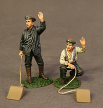 German Choc Men, Knights of the Skies, two figures