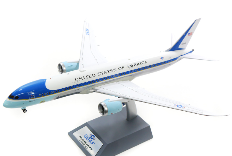 Usaf Boeing 787 9 Air Force One 78000 Polished With Stand 1 200