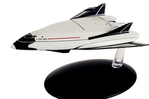Orbital Vehicle NASA, OV-165, STAR TREK: Enterprise, w/Magazine