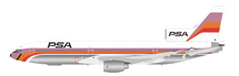 PSA Lockheed L-1011 N10112 Polished With Stand