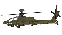 AH-64D Longbow Apache US Army 1st Attack Recon Btn, #05-7011, Camp Speicher, Iraq, 2010