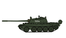 T-55 Soviet Army, #522, USSR, 1970s