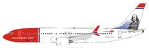 Norwegian Air Shuttle Boeing 737-8 Max EI-FYD With Stand