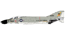 F-110A Spectre USAF TAC, #61-49405, Langley Field, VA, 1962
