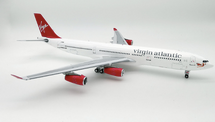 Virgin Atlantic Airways Airbus A340-300 G-VFAR Diana with Stand, Limited to 50 pieces