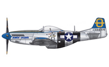 P-51D Mustang USAAF 3rd ACG, 3rd FS, Jumpin` Jaques, Jaques
