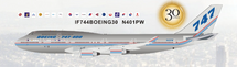 Boeing 747-400 N401PW With Stand, Limited Collector's Edition