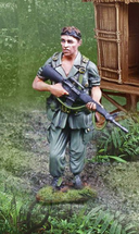 Platoon Sgt. Elias, single figure
