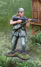 Platoon Sgt. Barnes, single figure