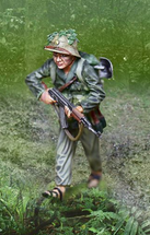 VietCong Advancing, single figure