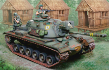 M48 King Cobra US Army, includes two figures and accessories