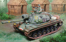 M48 Dragon `The Grave Diggers`, includes two figures and accessories