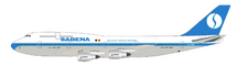 Sabena Boeing 747-300 OO-SGD With Stand